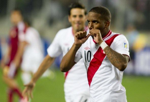 Jefferson Farfán, futbolista peruano - noticias