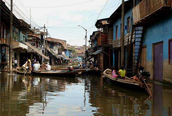 Mercado de Iquitos, Belen, amazonas - noticias