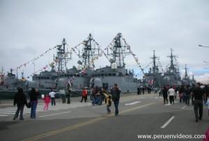 Domingo 14 de octubre de 2012 la Base Naval abrió sus puertas a la ciudadanía