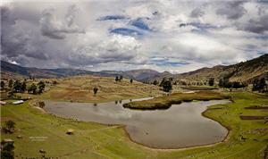 Lago en forma de puma en Pomacocha, Ayacucho - noticias