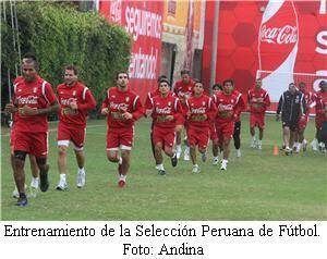 seleccion peruana de futbol entrena en cusco - noticias