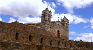 iglesia San Juan Bautista sobre el complejo arqueologico de Vilcashuaman - noticias