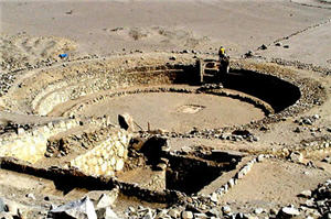 Caral un lugar arqueológico cerca de Lima - noticias