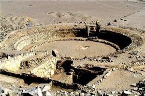 Caral un lugar arqueológico cerca de Lima