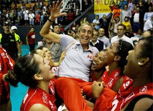 Perú venció a Brasil en el coliseo Grau del Callao - noticias