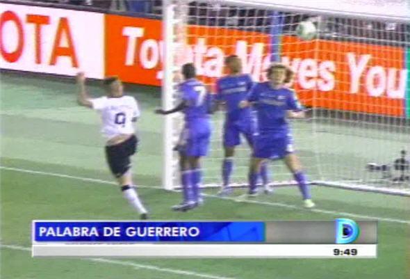 Paolo Guerrero anotó el gol de la victoria de Corinthians