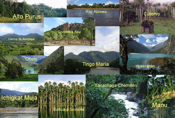 11 parques nacionales del peru