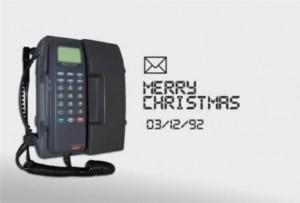 un saludo de navidad fue el primer sms - noticias