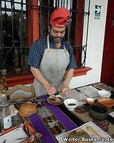 Walter Bustamante en Sonccollay