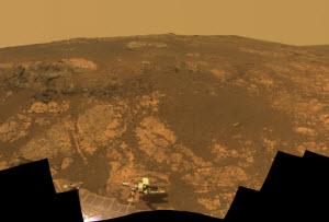 Sonda Opportunity ya tiene 9 años en Marte