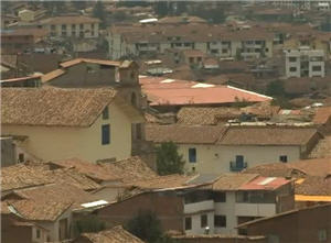 viviendas del barrio san blas en cusco