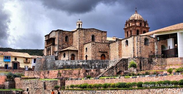 Imagen del Templo del Coricancha en Cusco, Perú