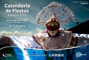Información sobre el Calendario de Fiestas Febrero 2013