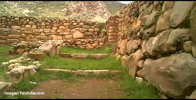 Zona arqueológica de Pucará en Puno