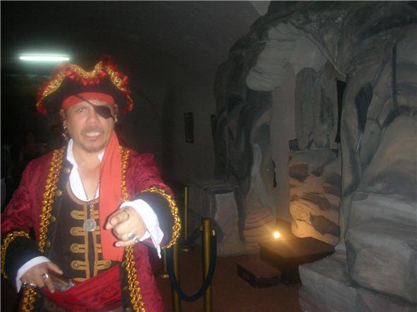 Dotes de actor del pirata del Callao