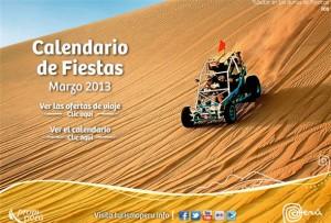 calendario fiestas marzo 2013 promperu