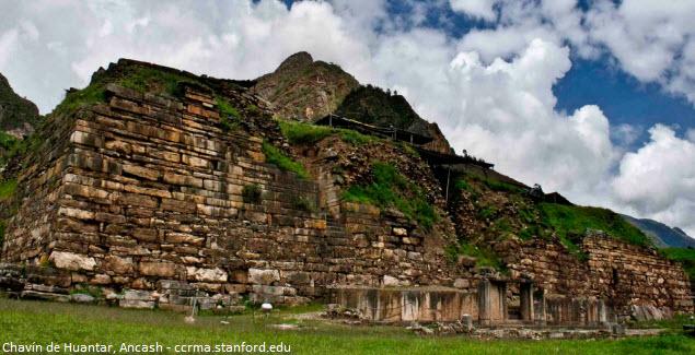 sitio arqueológico de Ancash