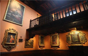 El interior del Convento de los Descalzos de Lima
