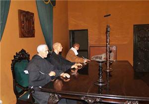 El Tribunal del Santo Oficio en el Museo de la Santa Inquisición.