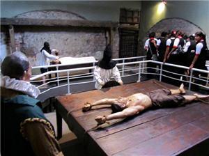 Sala de Tormentos en el Museo de la Santa Inquisición