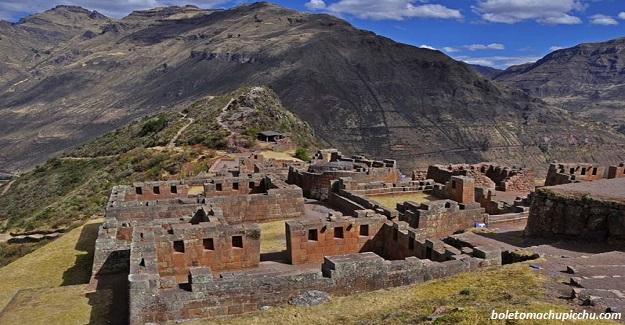 ruinas arqueológica en Valle Sagrado