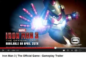 trailer videojuego iron man 3