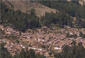 Vista del Pueblo de Mamara en Apurimac