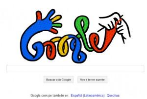 Doodle de Google en invierno