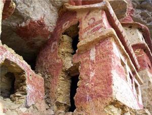 Paredes del Mausoleos de Revash