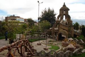 Vista panorámica del Parque de la Identidad Wanca en Junín