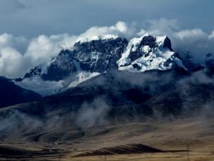 Los glaciares en Macusani, Puno