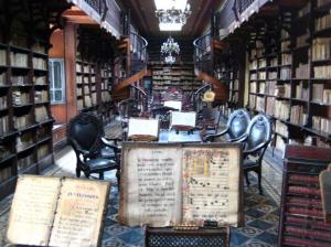 Biblioteca en el Convento San Francisco