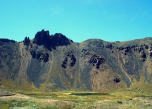 El cerrro Kaphia en Yunguyo, Puno