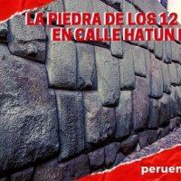 La Piedra de los 12 Ángulos en Calle Hatun Rumiyoc, Cusco