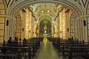Interior de la Iglesia San Francisco