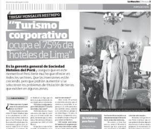 Entrevista a Tibisay Monsalve sobre Turismo Corporativo en Perú