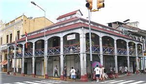 La Casa de Fierro en el centro de la ciudad de Iquitos
