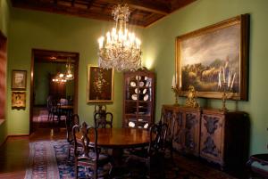 Interior de una de las casonas antiguas de Arequipa