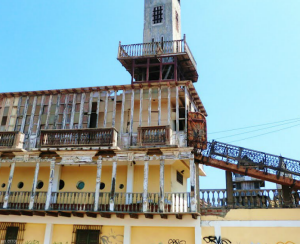 castillo turístico de punta negra
