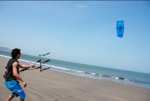 Kiteboarding en Puerto Morín