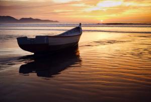 Paisaje del Puerto Morín en La Libertad