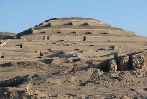Cahuachi es una ciudad cercana a las líneas de Nazca