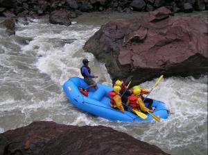 Deporte de aventura en Urubamba: Canotaje o Rafting