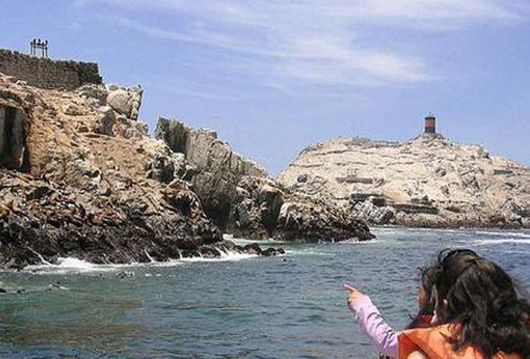 Islas Palomino frente al Callao