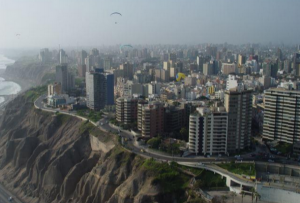 Lima capital del Perú con afluencia turistica