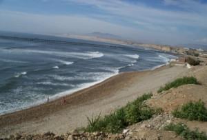 En sus vacaciones visite Pacasmayo en la costa norte de Perú