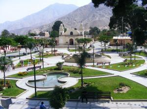 Distrito de Sayán en Huaura