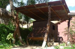 Carreta en la casa de La Perricholi