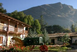Hotel en Tarma en monumento histórico