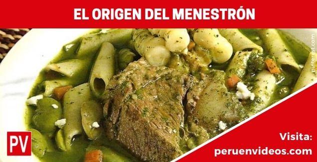 El origen del menestrón y la receta peruana con Gastón Acurio